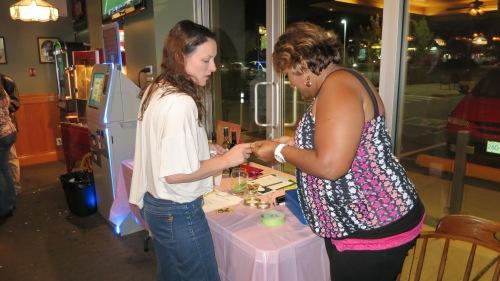 Shannon Abbott, CS volunteer & Monica Sawh, CS Vice-President