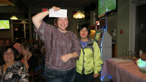 Raffle winner of the Esso gift card!